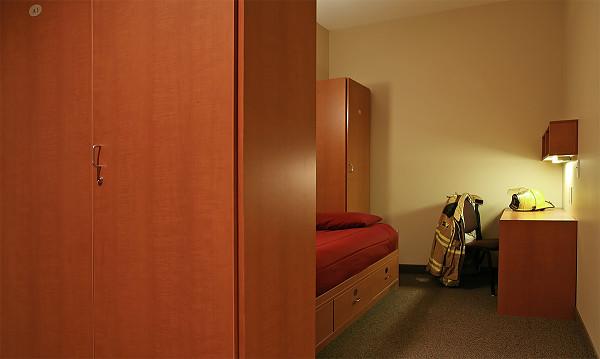 Fire Station Locker Rooms Custom Designed For Firefighters
