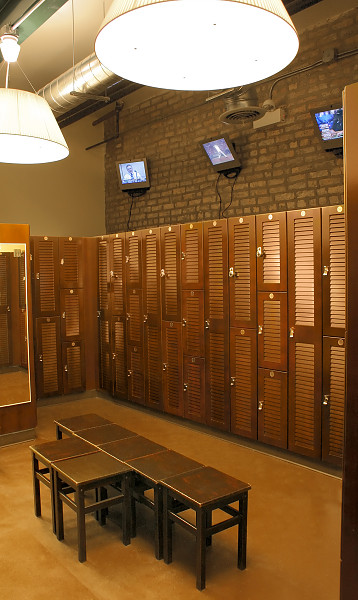 Wood gym lockers custom locker rooms athletic