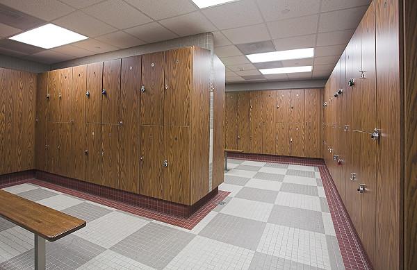 Wood gym lockers custom gym locker rooms athletic locker rooms