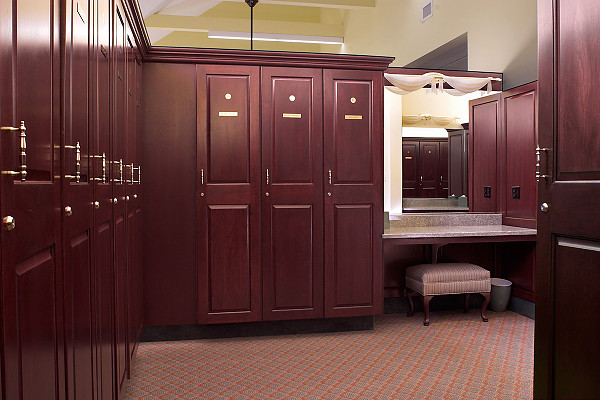 Country Club Golf Lockers Upscale Custom Wood Lockers