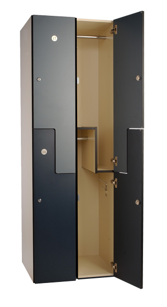 Standard Locker Configurations Custom Wood Lockers For
