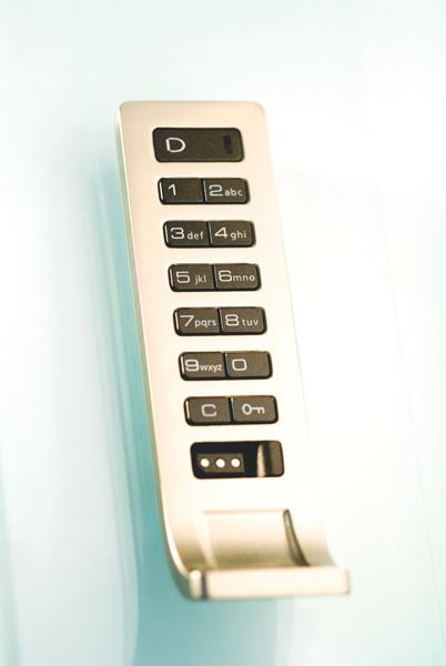 Keyless Digital Locks Locker Room Security Wood