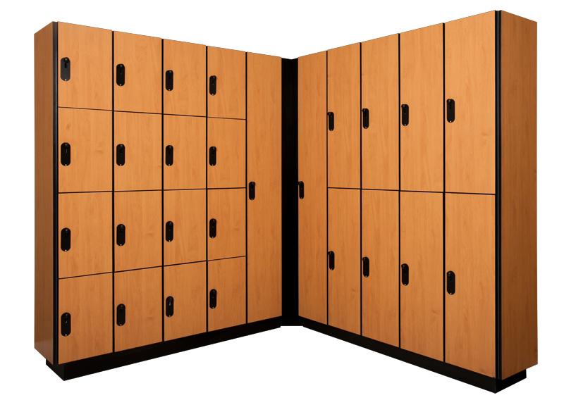 Performance Series Lockers Custom Wood Lockers Built To Last