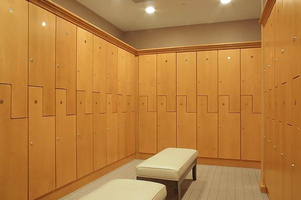 Wooden Spa Lockers Custom Wood Lockers For Hotels