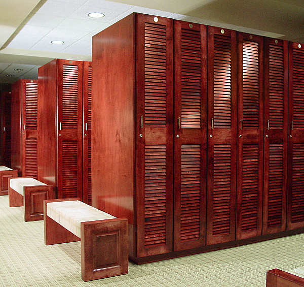 Ski Lodge Athletic Lockers Waterproof Metal Athletic Lockers