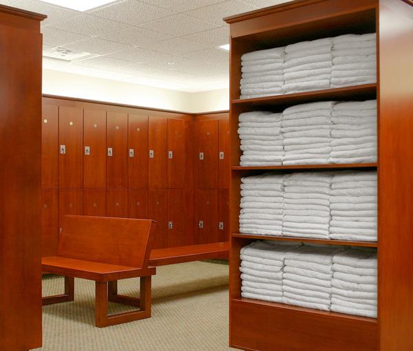 Vanity Lockers Amp Towel Stations Legacy Lockers Custom Wood Lockers