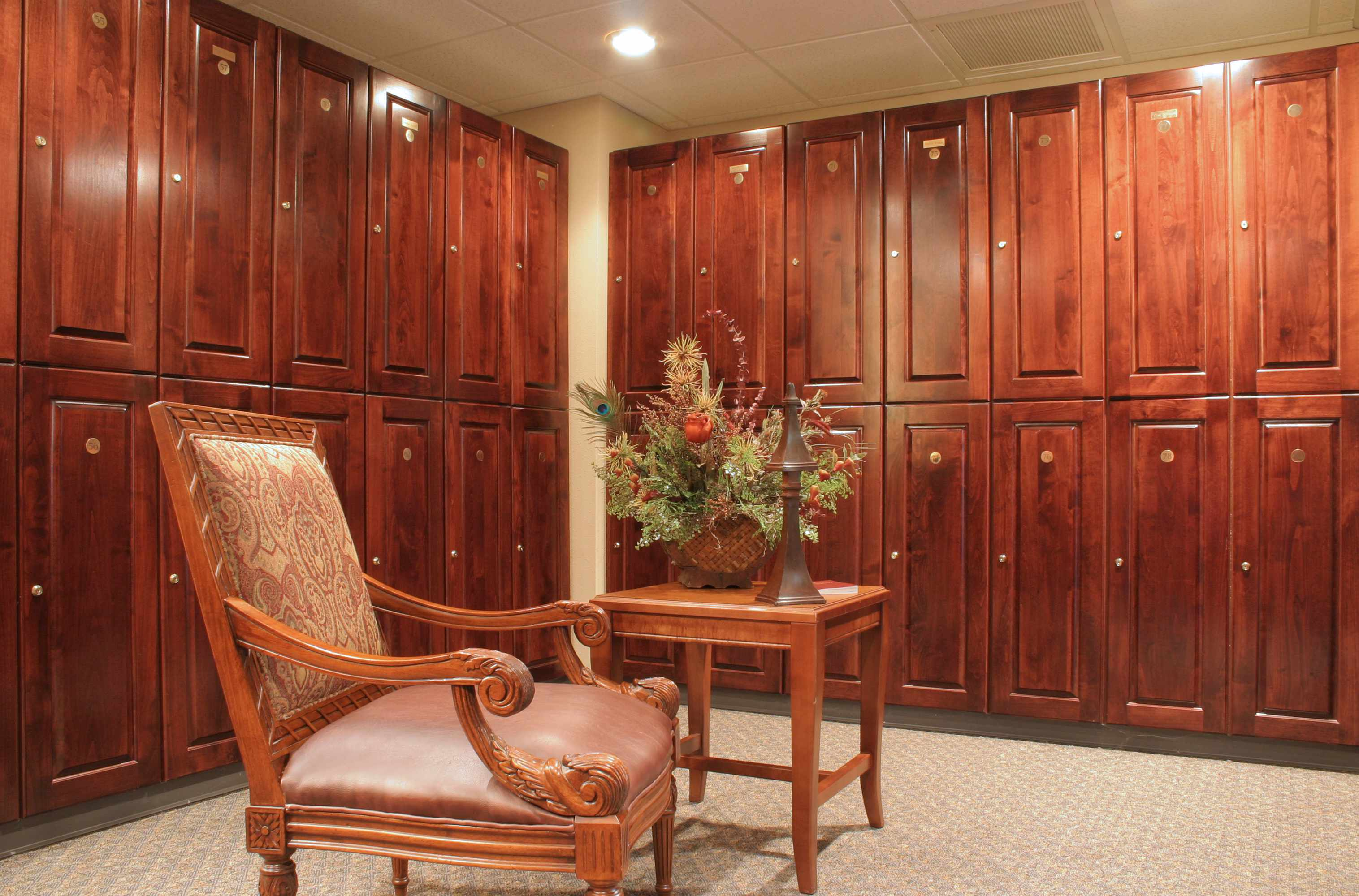 When It Comes To Locker Room Design U0026 Innovation, Wood Is Good Just The Way  It Is.