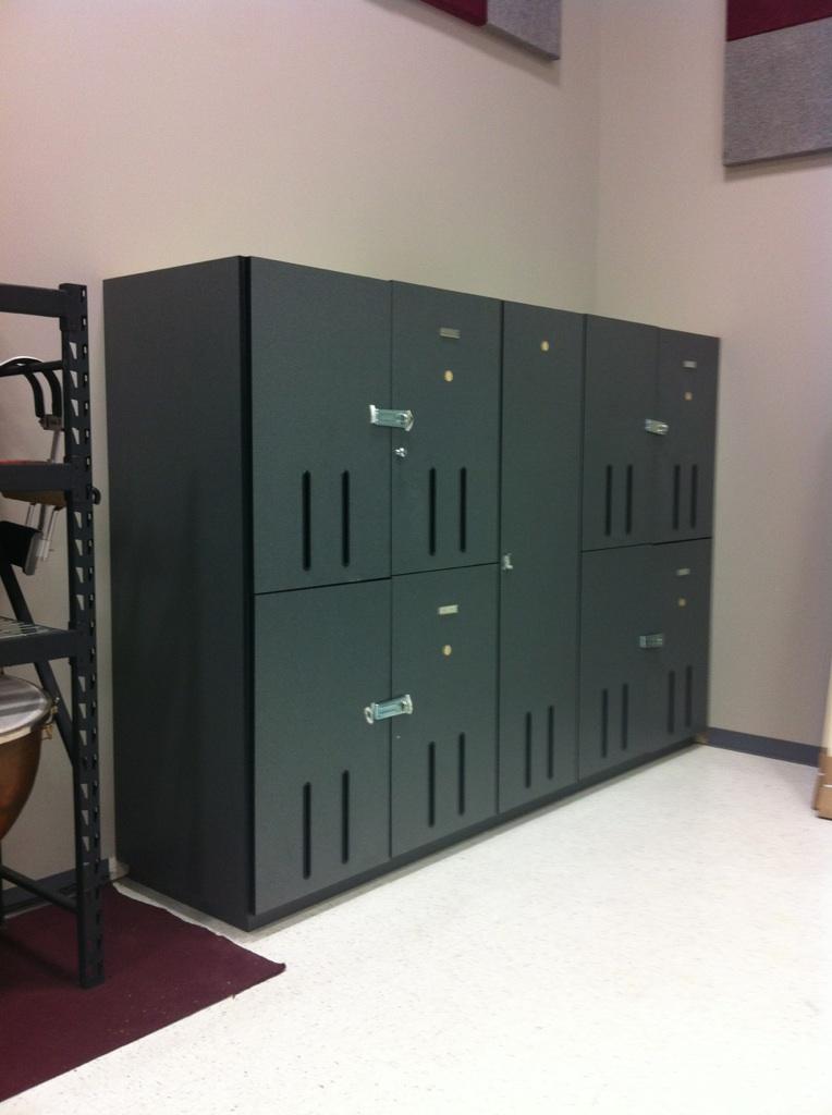 Music Instrument Storage Lockers